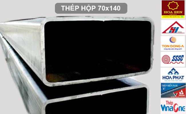 Thép hộp 70x140